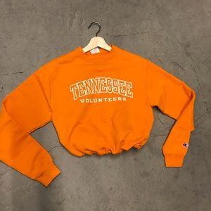 Tennessee volunteers drawstring crop sweatshirt